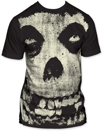 The Misfits: All-Over Misfits Skull Big Print