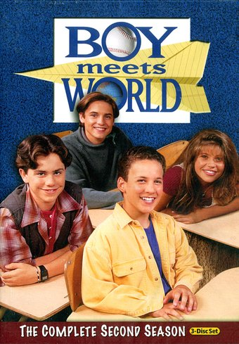 Boy Meets World - Complete 2nd Season (3-DVD)