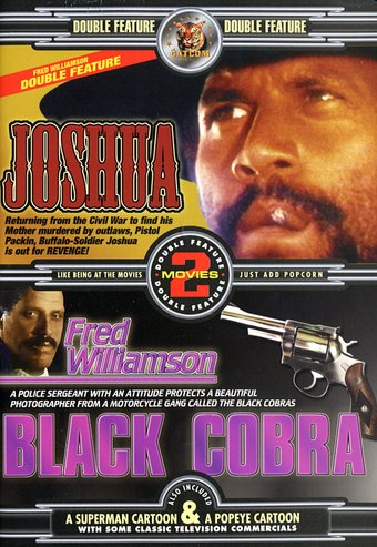 Fred Williamson Double Feature: Joshua / Black