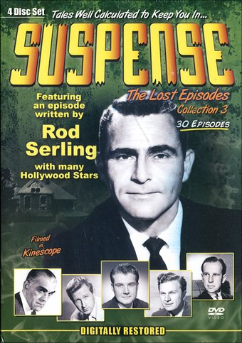 Suspense - Lost Episodes Collection 3 (4-DVD)