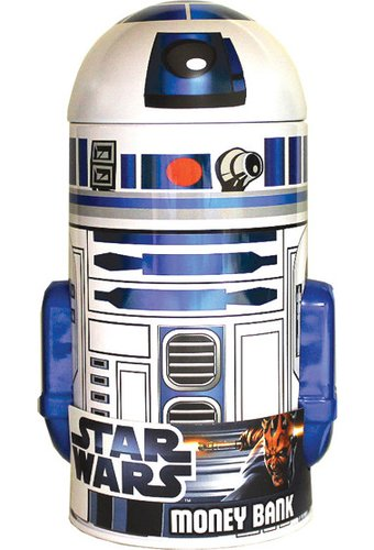 Star Wars - R2-D2: Shaped Tin Bank