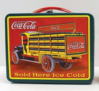 Coke Large Tin Carry all