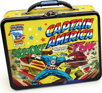 Marvel Comics - Captain America - Yellow with