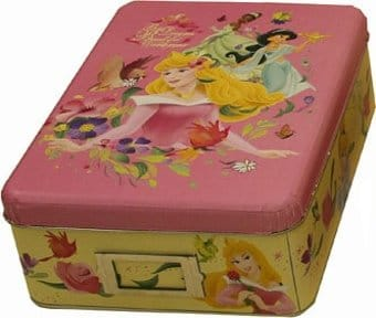Princesses - Tin Storage Box
