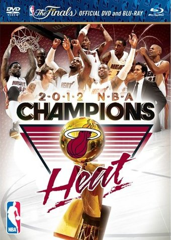 2012 NBA Championship: Heat (Blu-ray + DVD)
