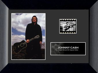 Johnny Cash - Framed Minicell
