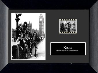 KISS - Framed Special Edition Minicell (Series 1)