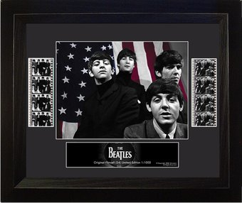 The Beatles - Framed Limited Edition Double Film