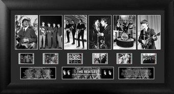 The Beatles - Framed Limited Edition Deluxe Film