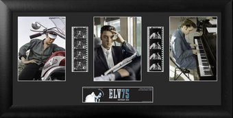 75th Anniversary - Framed Trio Film Cell (Series