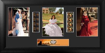 Gone With The Wind - Framed Trio Film Cell