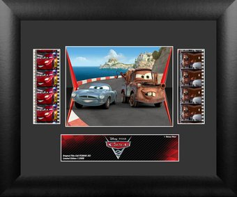 Cars 2 - Framed Double Film Cell (Series 3)