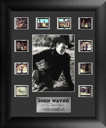 John Wayne - Framed Limited Edition Mini Montage