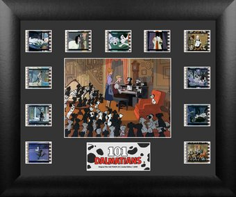 101 Dalmatians - Framed Mini Montage Film Cell