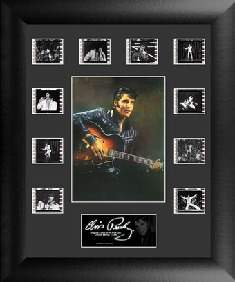 Elvis Presley - Framed Mini Montage Film Cell