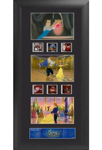 Disney - Beauty & The Beast - Framed Trio Film