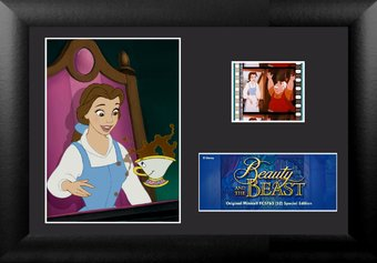 Disney - Beauty & The Beast - Framed Minicell