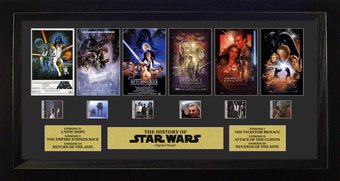 Star Wars - Thru the Ages/Six Films Film Cell