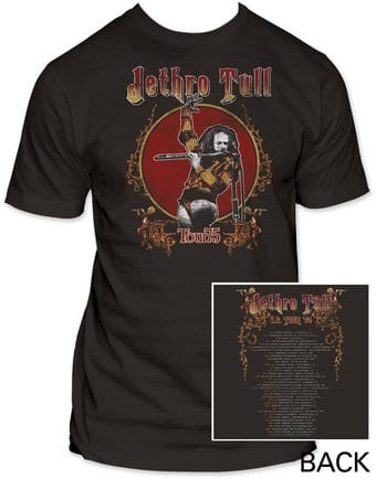 Jethro Tull: Tour '75 (Fitted Jersey)