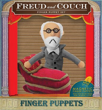 Sigmund Freud & Couch - Finger Puppet Set