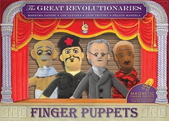 The Great Revolutionaries - 4-Piece Finger Puppet