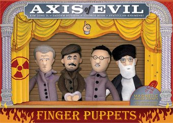 Axis of Evil - 4-Piece Finger Puppet Set