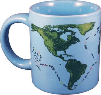 Global Warming - Heat Activated 10 oz. Ceramic Mug