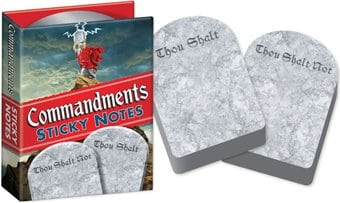 Sticky Notes - Commandments