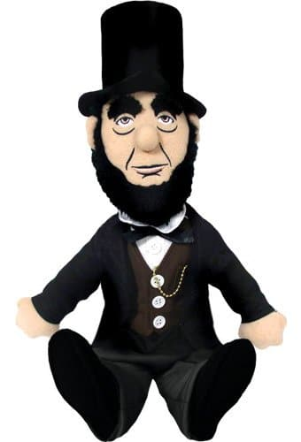 Abraham Lincoln - Little Thinker Plush Doll