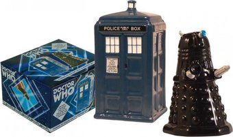 Doctor Who - TARDIS - and Dalek Salt and Pepper