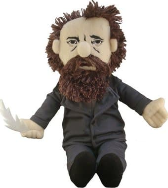 Charles Dickens - Little Thinker Plush Doll