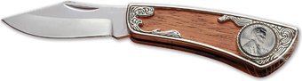 Coins: 1943 Lincoln Steel Penny Pocket Knife