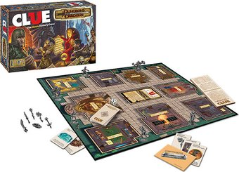 Dungeons & Dragons - Clue - Board Game