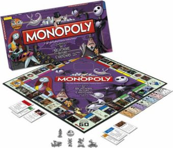 The Nightmare Before Christmas - Monopoly