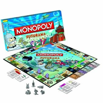 Futurama - Monopoly Board Game