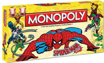 Marvel Comics - Spiderman - Monopoly: Collector's