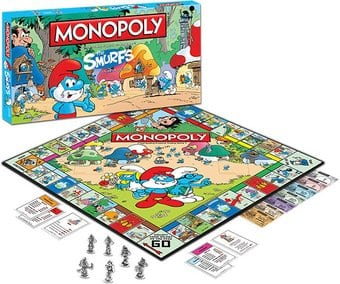 Smurfs - Monopoly Game: Collector's Edition