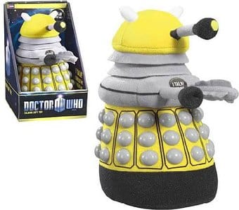 Doctor Who - Dalek - Yellow Talking Plush
