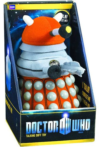 Doctor Who - Dalek - Orange Talking Plush