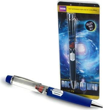 Doctor Who - Floating Red Dalek - Pen