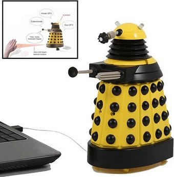 Doctor Who - Dalek - Yellow USB Patrol Figure