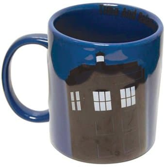 Doctor Who - TARDIS - Blue 2D 8 oz. Relief Mug