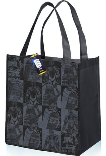 Doctor Who - Monochrome Comic Strip - Tote Bag