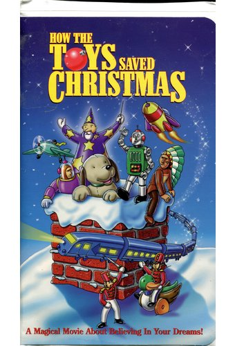 How The Toys Saved Christmas Vhs 1996 Starring Mary