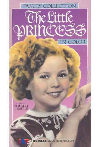 The Little Princess Vhs 1994 Starring Shirley Temple