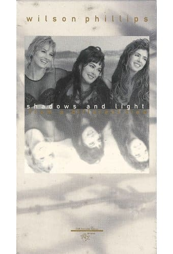 Wilson Phillips Shadows And Light Vhs 1992 Starring