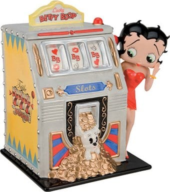 "Betty Boop - Limited Edition ""Lady Luck"" Ceramic"