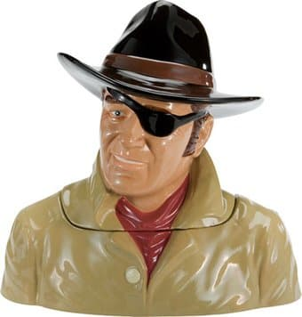 John Wayne - True Grit - Limited Edition Ceramic