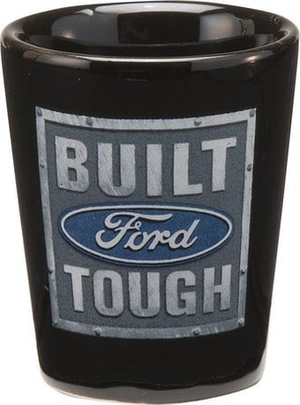 Ford - Built Tough - Ceramic Shot Glass