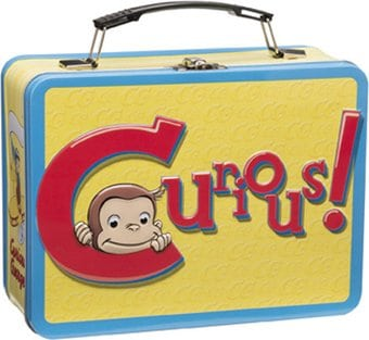 Curious George - Large Tin Tote